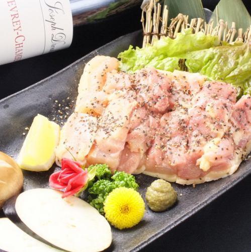 淡路島産朝引き地鶏ステーキ(もも肉)