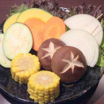 焼き野菜6種盛り