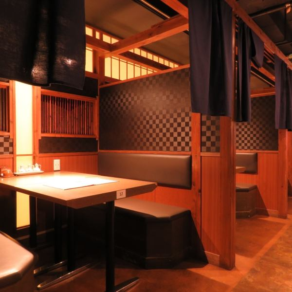 【Table Seats (Half-Single)】 Ideal for 2 to 6 people ♪ Please come and visit us ♪ Cheers are decided by gyoza and beer ★