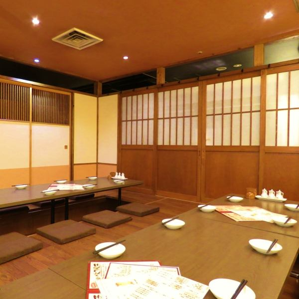 【Osaki private room】 To company banquet ◎ Spring farewell reception party and banquet inside fellow! Because it is digging digging up legs are also comfortable ♪