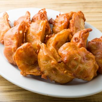 Deep-fried dumplings gyoza