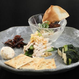Appetizer platter 5 points