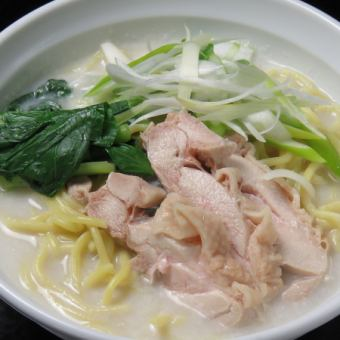 Rich water cooked champagne noodles