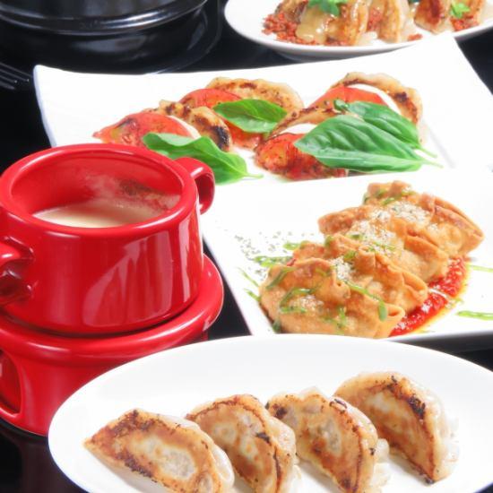 [NEW] Girls' Union Course ♪ Dumplings de Cheese Fondue and Caprese etc!