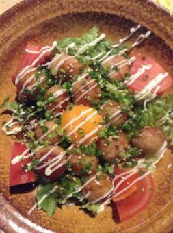 特产Tsukune沙拉