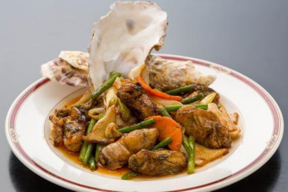 煸炒辣牡蛎