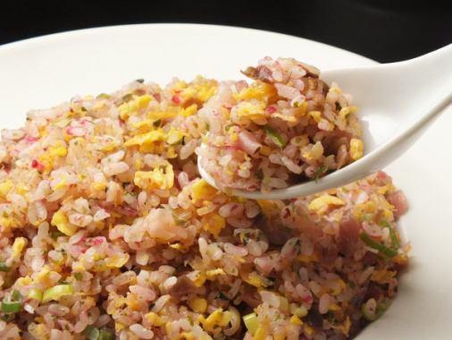 梅花泡菜炒饭