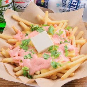 クリームチーズ明太子バター