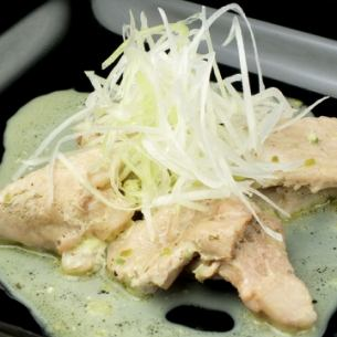 돼지 고기의 허브 찜 크림 치즈 감기