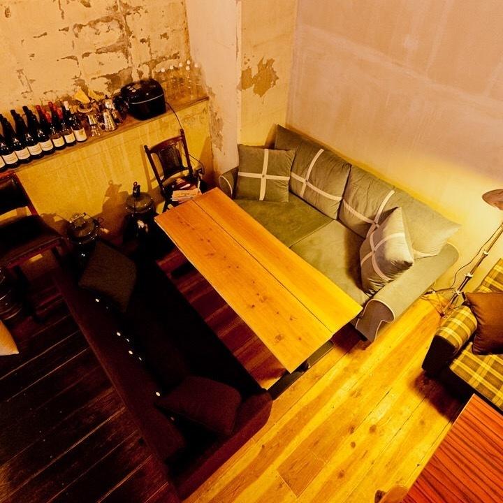 軟♪雞沙發♪是女子協會的受歡迎的座位!
