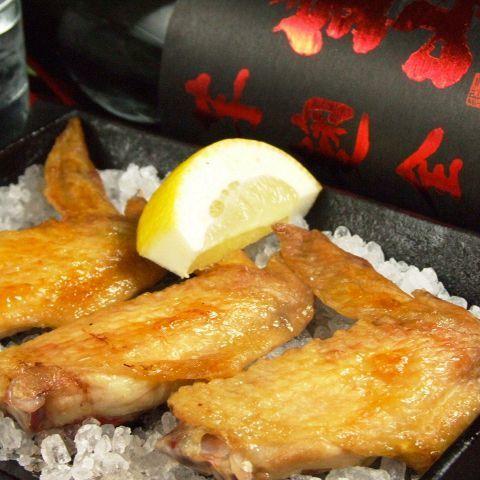 닭 날개 암염 구이