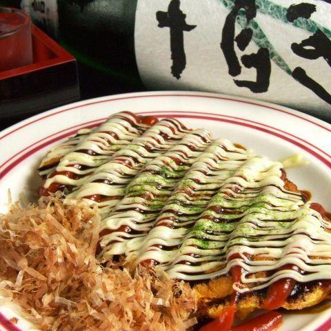 오코노미 야키 풍 豚平焼