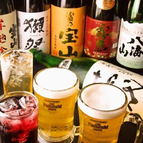 I am particular about shochu and sake!