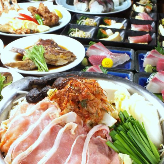 Banquet course is available for 2 hours at reasonable prices from 4000 yen ~ Prepare coupon check ★