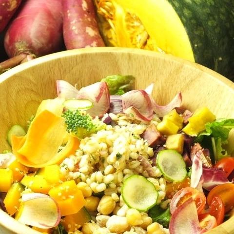 Ginsai沙拉配超級食物