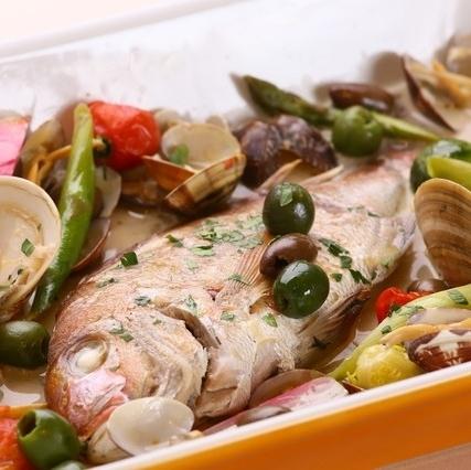 一整條魚Aquapazza