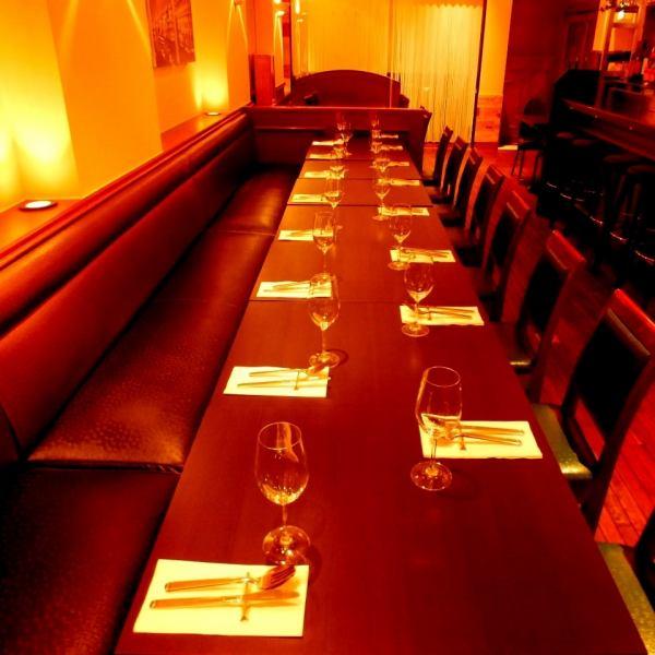 [私人]預訂15至40位客人OK !!我們將根據人數準備座位。請用於女孩派對,生日,各種公司宴會。