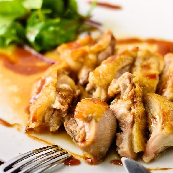 Honey roast chicken