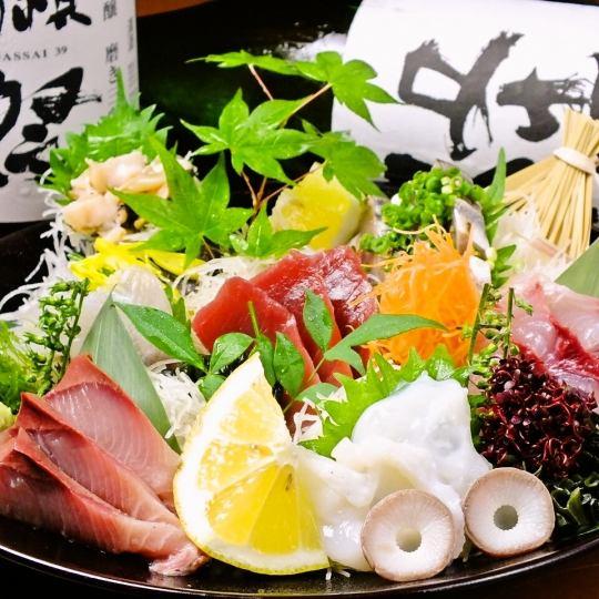 【相模湾直結!朝採新鮮!】鮮魚刺盛