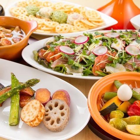 Plenty of vegetable sommelier carefully selected domestic vegetables ♪