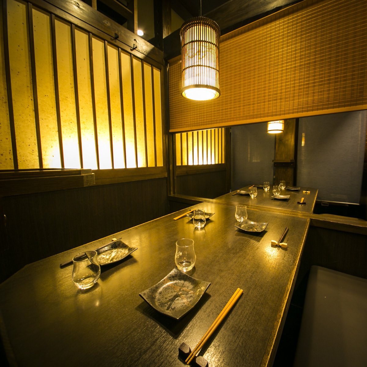 【Half-size room】 Private room for 7 ~ 8 people is perfect for drinking party ★ (It is an image of affiliated store)