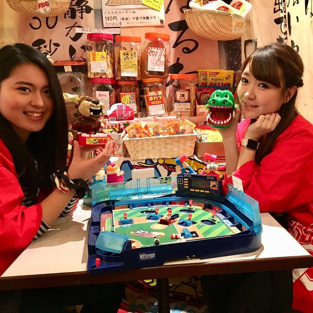 女子だから話したい♪【パスタ付☆駄菓子女子会プラン 3時間】飲放・駄菓子食放題!
