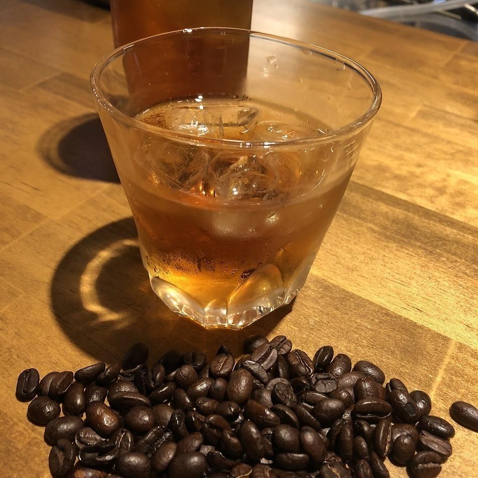 自家製コーヒー焼酎