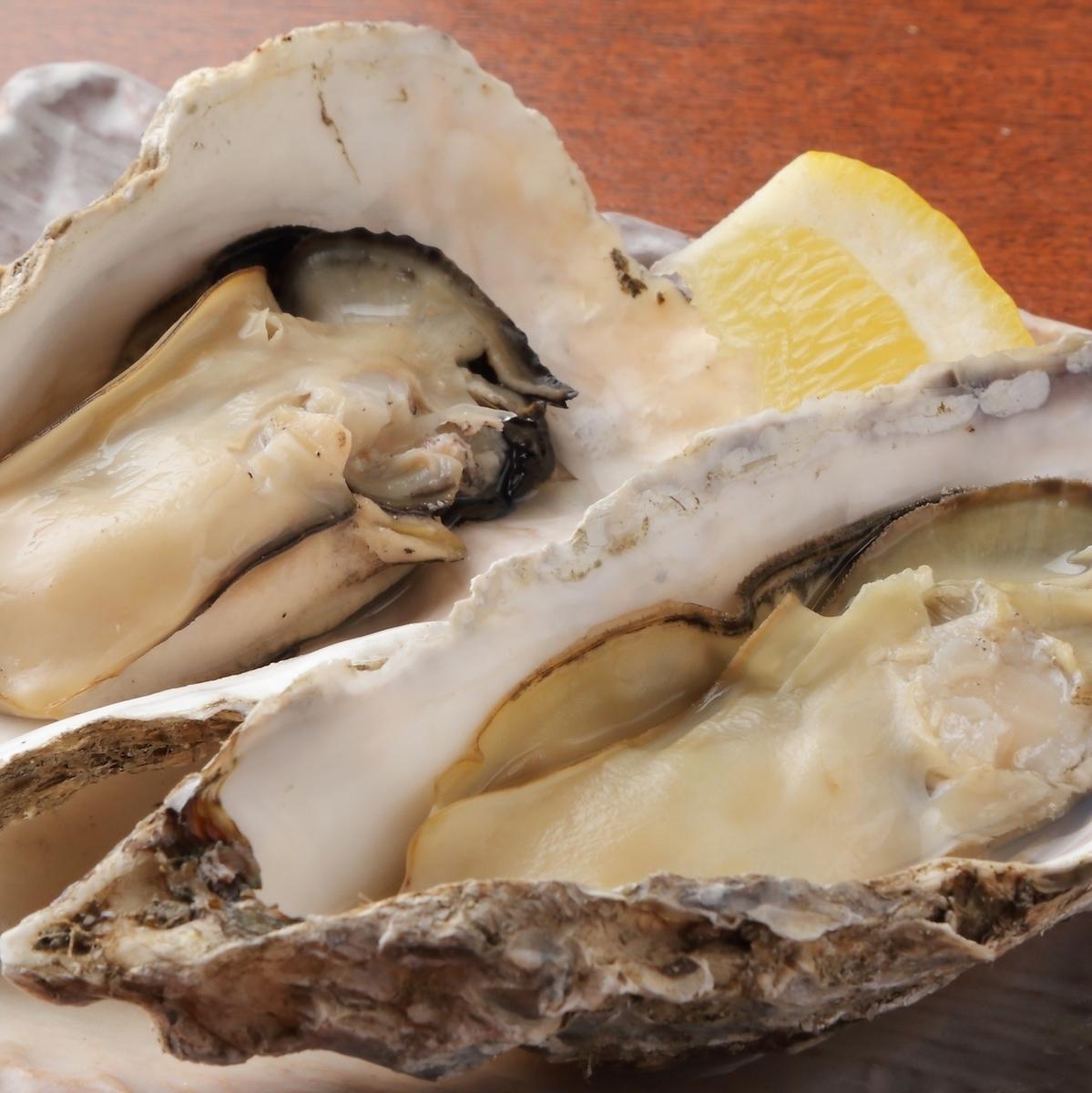 厚岸産牡蠣焼き(1個)