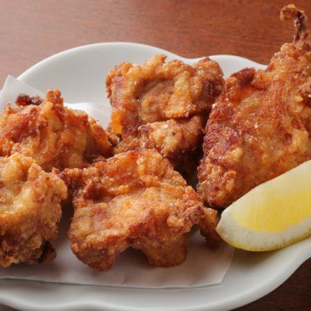 国産鶏の自家製 醤油ザンギ