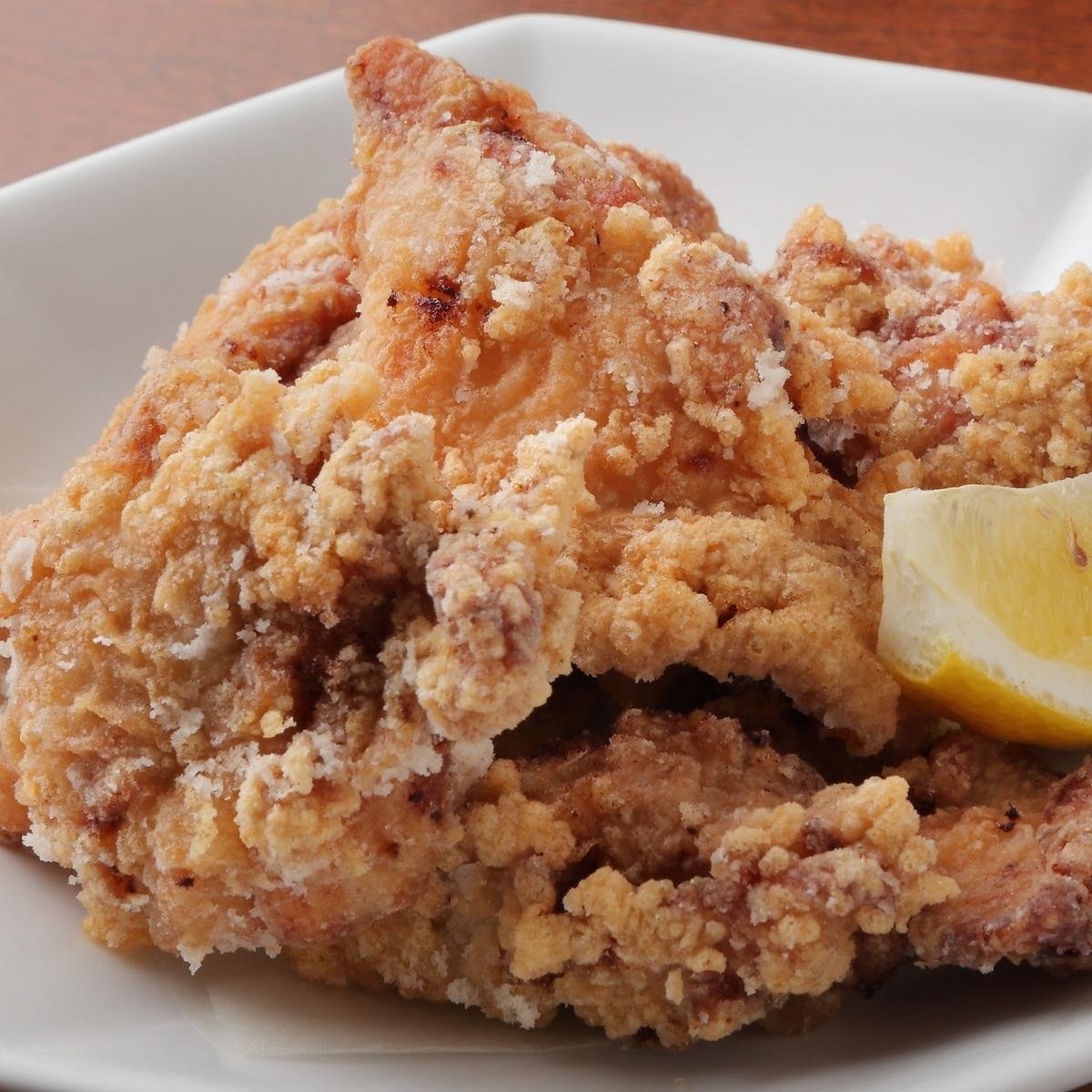 国産鶏の自家製 塩ザンギ