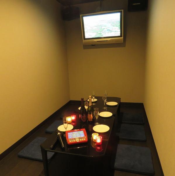 【個室・デート】カラオケ付VIPルームリニューアル!!結婚式二次会の際は主役のお二人の控え室としてもお使いいただけます。