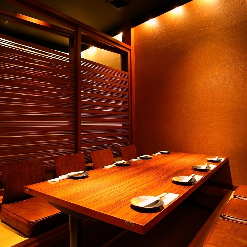 Hori-kotatsu private rooms