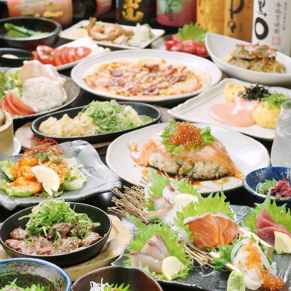 All you can eat and drink 3480 yen