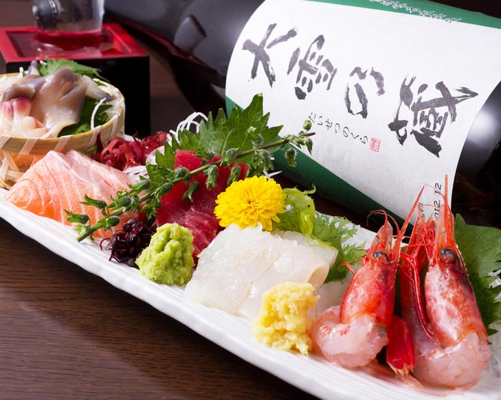 今天的五種生魚片