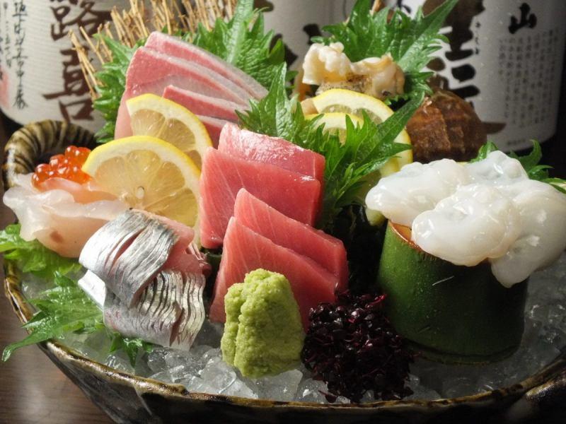 董事會超級推薦華麗的生魚片什錦
