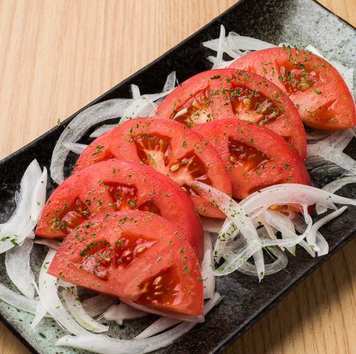 トマ玉サラダ