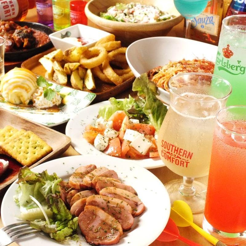 宴会コースは2000円~飲み放題付♪各種パーティお気軽にご相談ください!