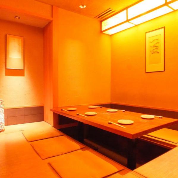 我们将提供一个完全私人的空间。从2人,最多18人。广泛适用于从公司的酒席应酬。