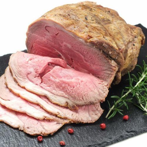 臭みがない新鮮な生ラム肉を使用!!