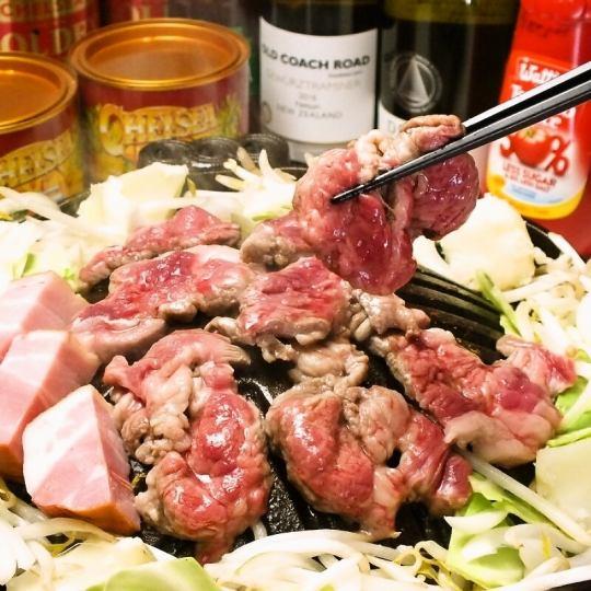 【こだわりの食材】特上肩ロースのラム肉と天日干し、血液サラサラ玉ねぎを使用してます!