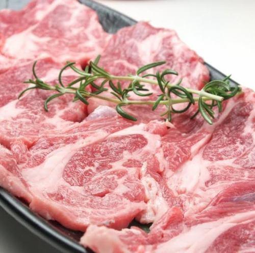 ラム肉炙り焼き