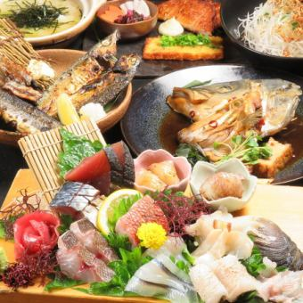 Taste the seasonal ingredients ... 【Delivery standard course】 4000 yen [120 minutes with drinks available] Kamozuru also drinks!