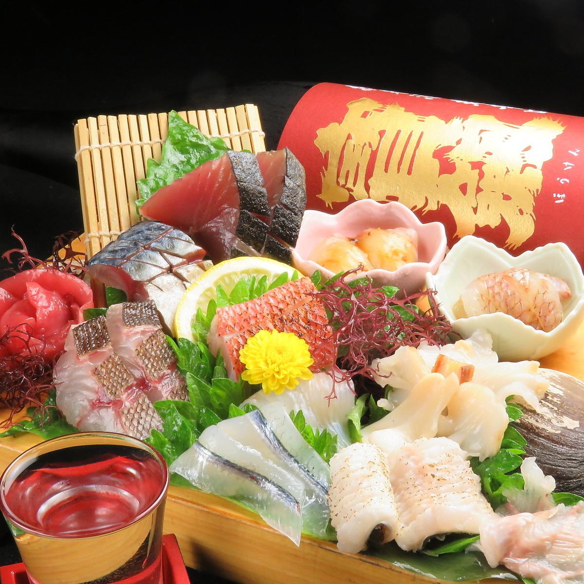 什錦生魚片(1人份)