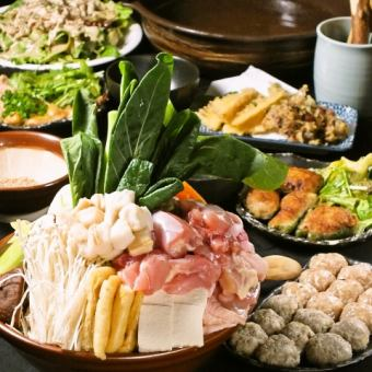 【Volume perfect score】 Yokozuna chan pot (All you can eat menu) & All you can drink course