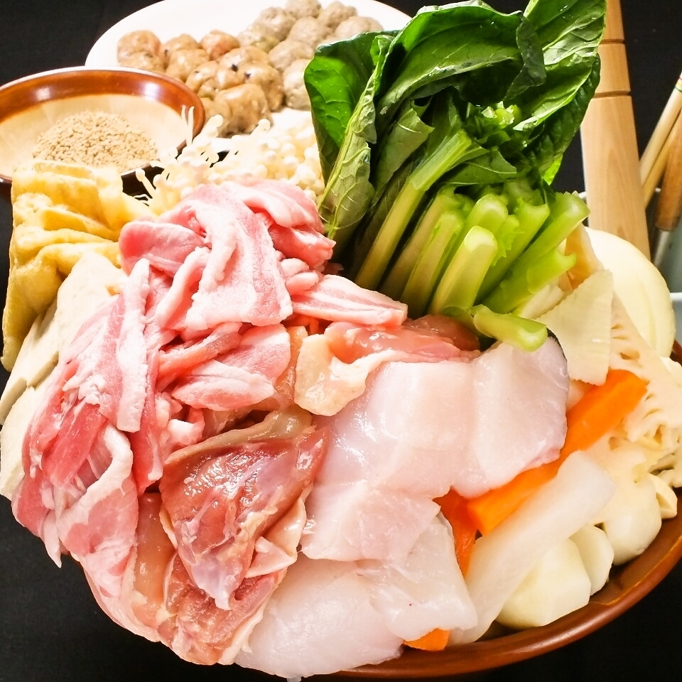 Our restaurant boasting Chanko Nabe 【Additional menu available all you can have】
