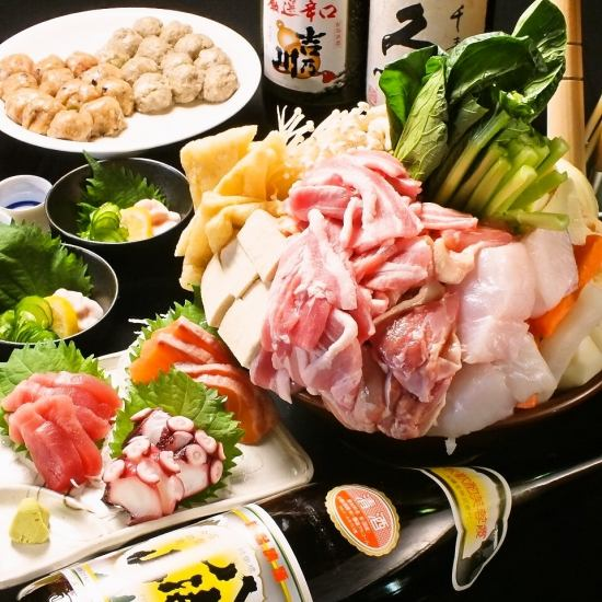 We prepare Chanca Nabe course from 2400 yen ♪ We have many additional menus!