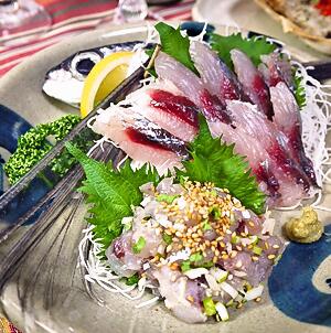 Tofu sashimi