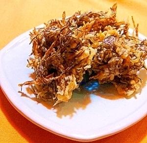Mozuku tempura