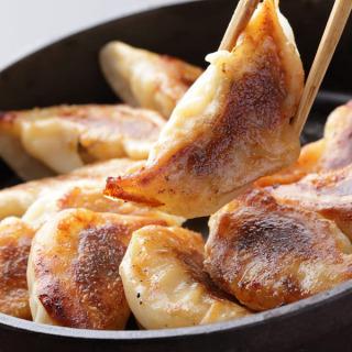 A bite mouth dumpling