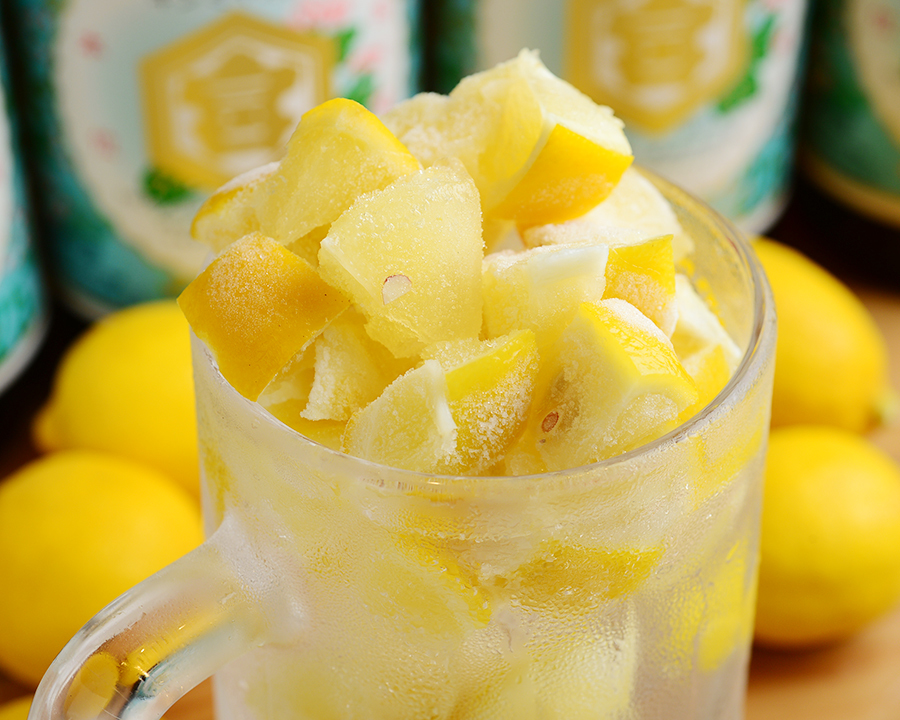 Freeze! Setoda lemon sour